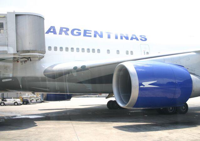 Boeing 747-400 argentino