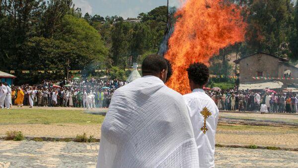 Festa Meskel in Etiopia - Sputnik Italia