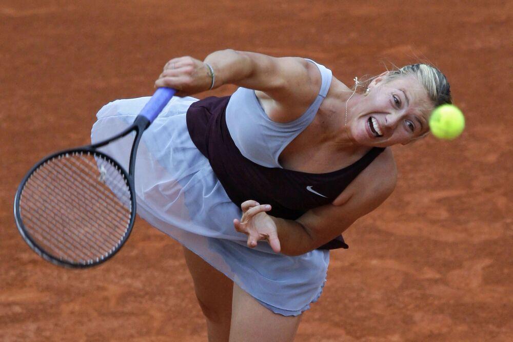 Maria Sharapova al Roland Garros 2010