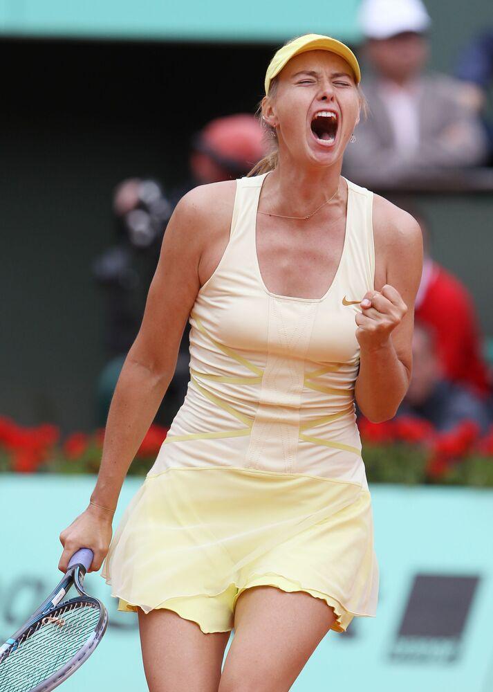 Maria Sharapova al Roland Garros 2011