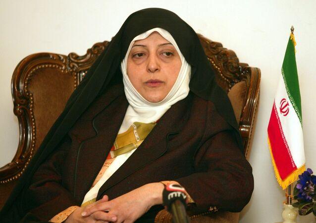 Masoumeh Ebtekar, vice presidente iran
