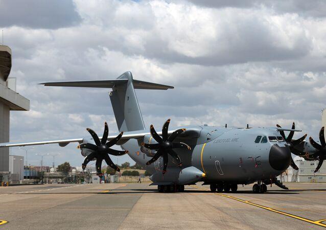Aereo dell'aviazione spagnola