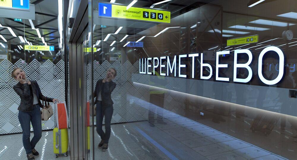 L'aeroporto di Mosca Sheremetyevo