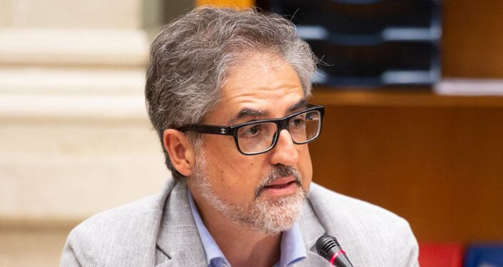Pino Cabras, membro della Commissione Affari Esteri alla Camera dei Deputati