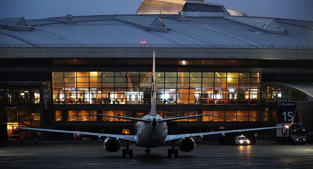 L'aeroporto moscovita di Vnukovo