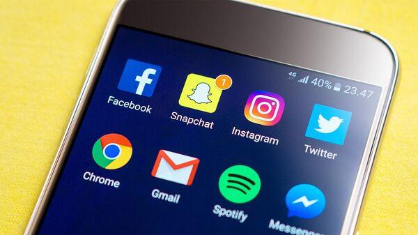 Icone dei social media - Sputnik Italia