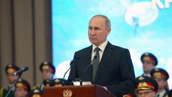 Visita del presidente russo Vladimir Putin nella regione di Pskov - Sputnik Italia