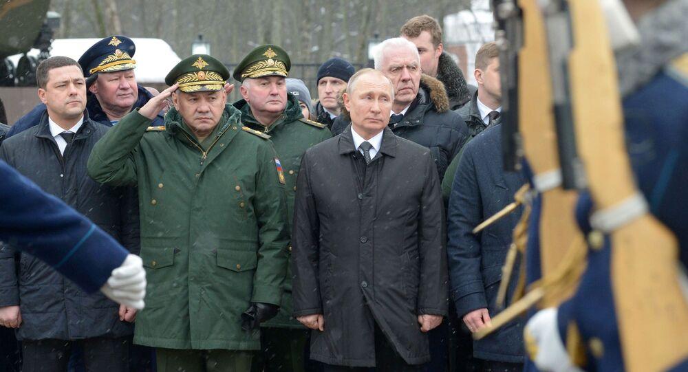 Visita del presidente russo Vladimir Putin nella regione di Pskov