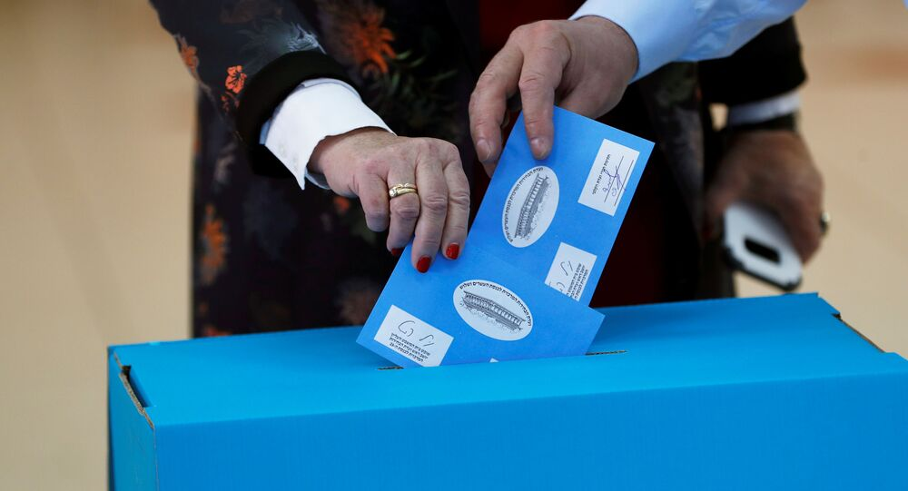 Elezioni in Israele, il secondo marzo del 2020.