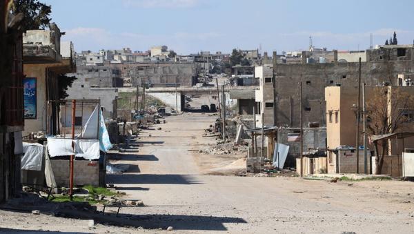 Le unità della polizia militare russa sono state dispiegate nella città di Saraqib in Siria - Sputnik Italia