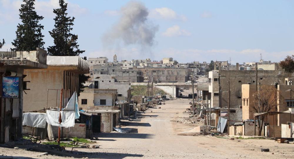 Le unità della polizia militare russa sono state dispiegate nella città di Saraqib in Siria