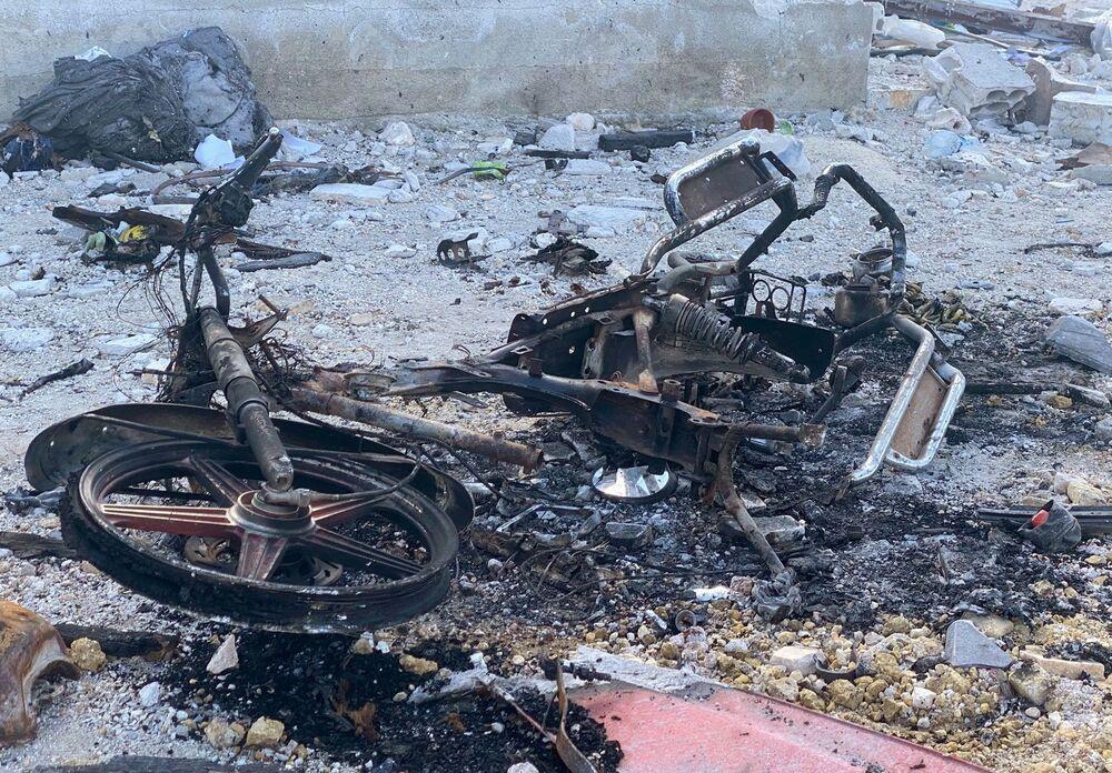 Le conseguenze di un'offensiva nella provincia di Idlib in Siria.