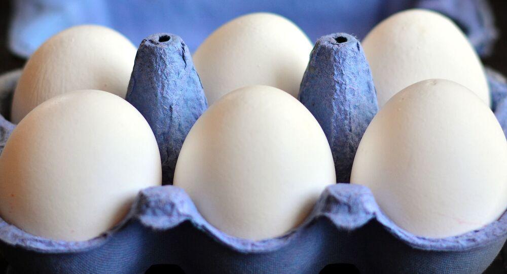 Confezione di uova di gallina