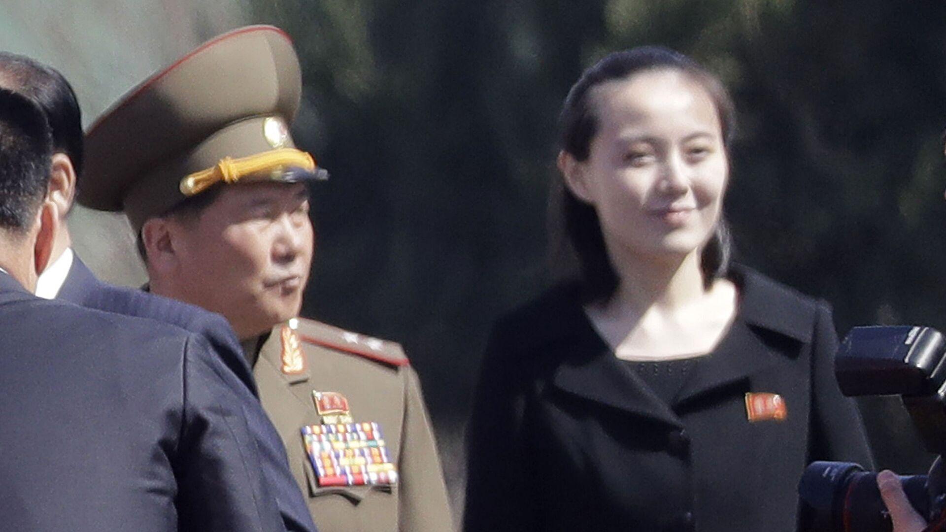 Сестра лидера КНДР Ким Чен Ына Ким Е Чен - Sputnik Italia, 1920, 01.08.2021