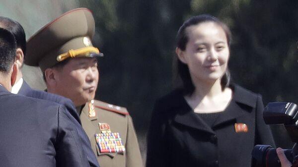 Сестра лидера КНДР Ким Чен Ына Ким Е Чен - Sputnik Italia