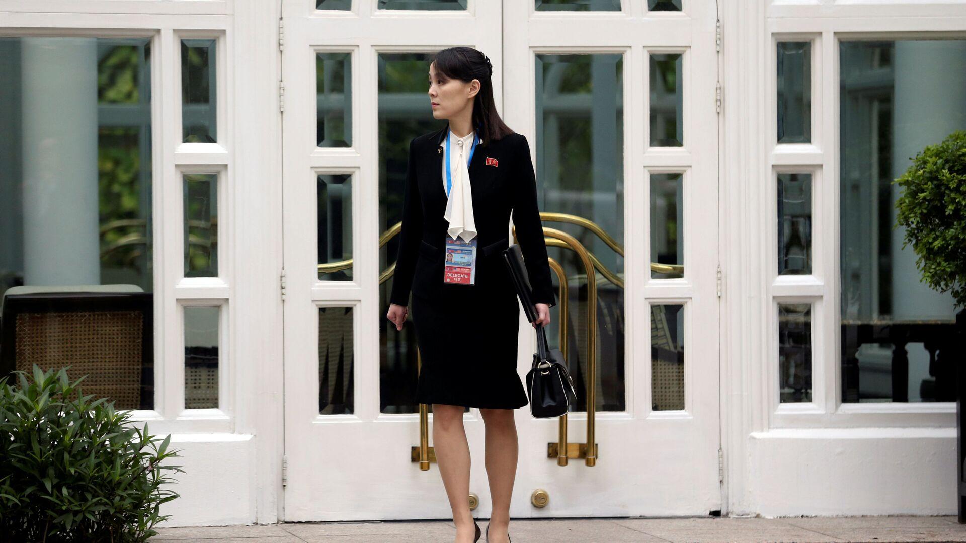 Sorella minore del leader della Repubblica Popolare Democratica di Corea e la vicedirettrice del Comitato Centrale del Partito del Lavoro Kim Yo-jong  - Sputnik Italia, 1920, 22.06.2021