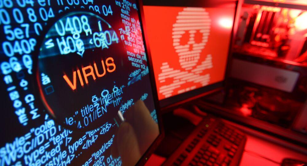 Attacco cybernetico (foto d'archivio)