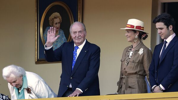 Il re emerit  Juan Carlos I di Spagna - Sputnik Italia