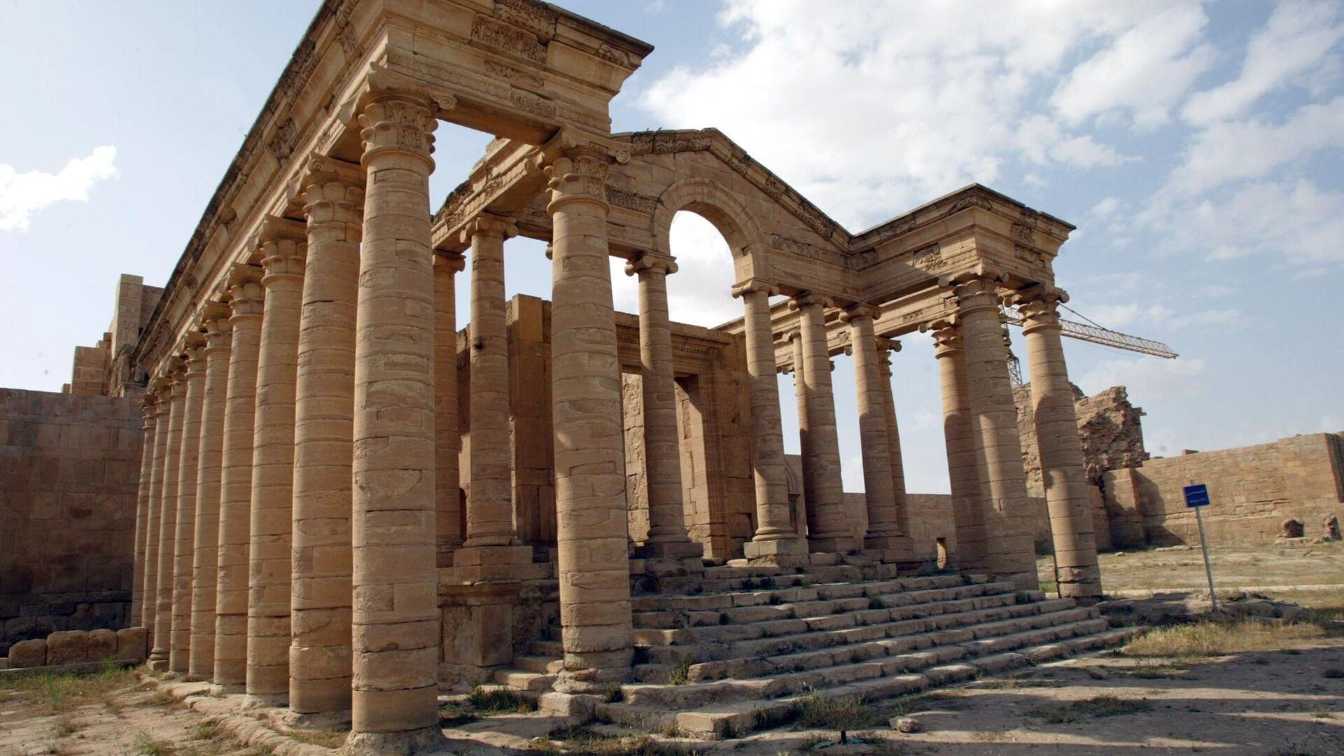 Tempio ellenistico ad Hatra - Sputnik Italia, 1920, 04.09.2021