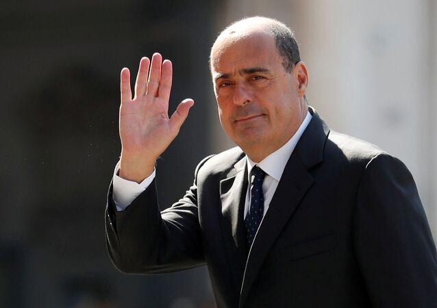 Il segretario PD Nicola Zingaretti