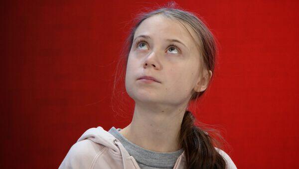 L'attivista svedese per lo sviluppo sostenibile e contro il cambiamento climatico Greta Thunberg - Sputnik Italia