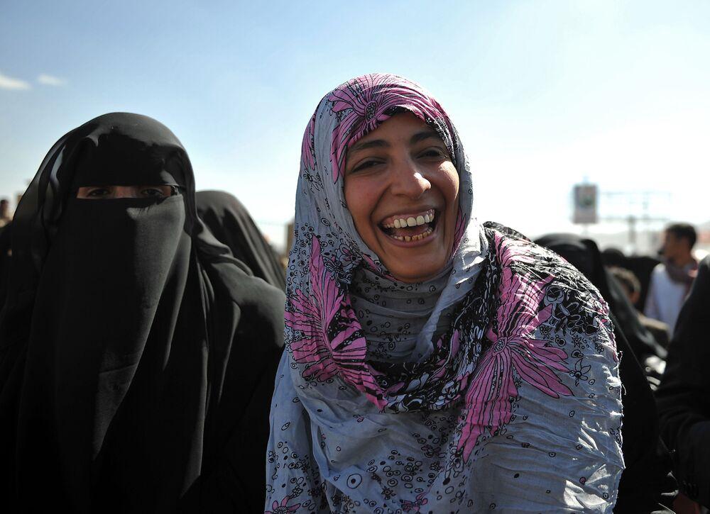 La giornalista yemenita Tawakkol Abdel-Salam Karman