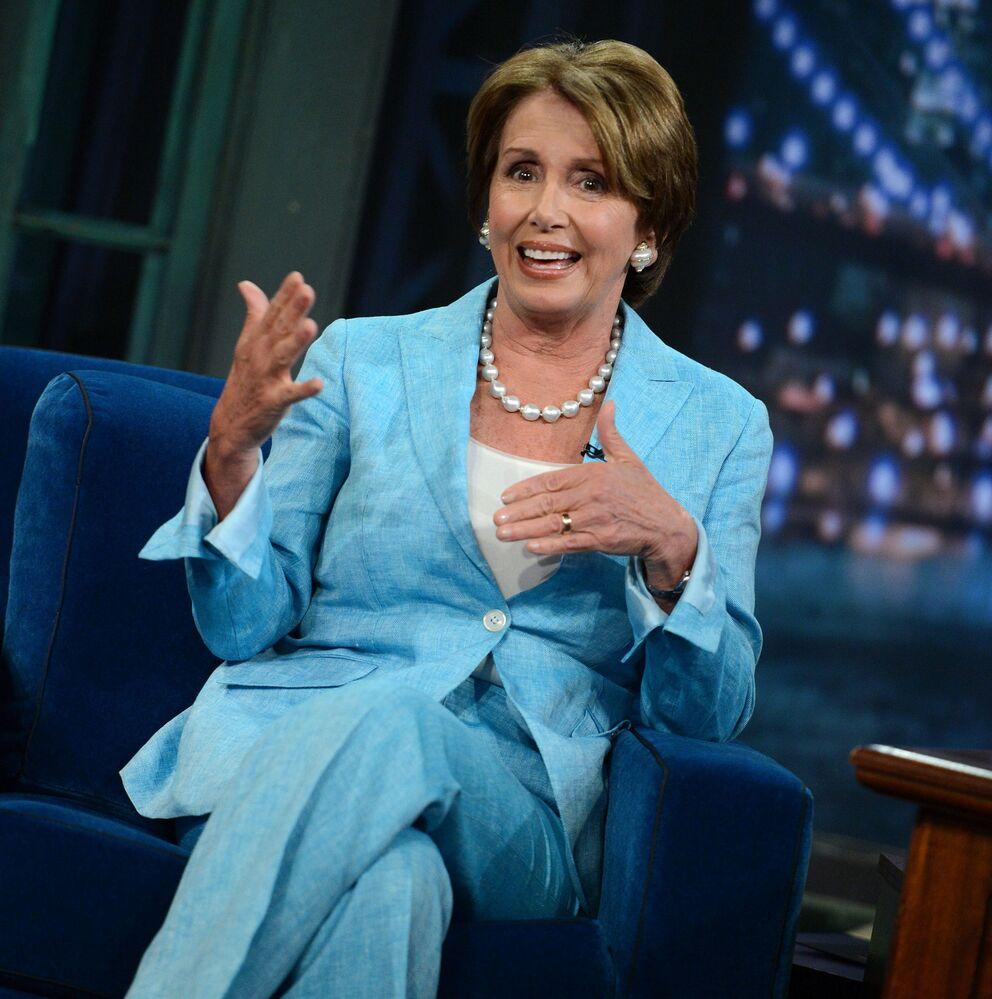 La presidente della Camera dei Rappresentanti degli Stati Uniti Nancy Pelosi