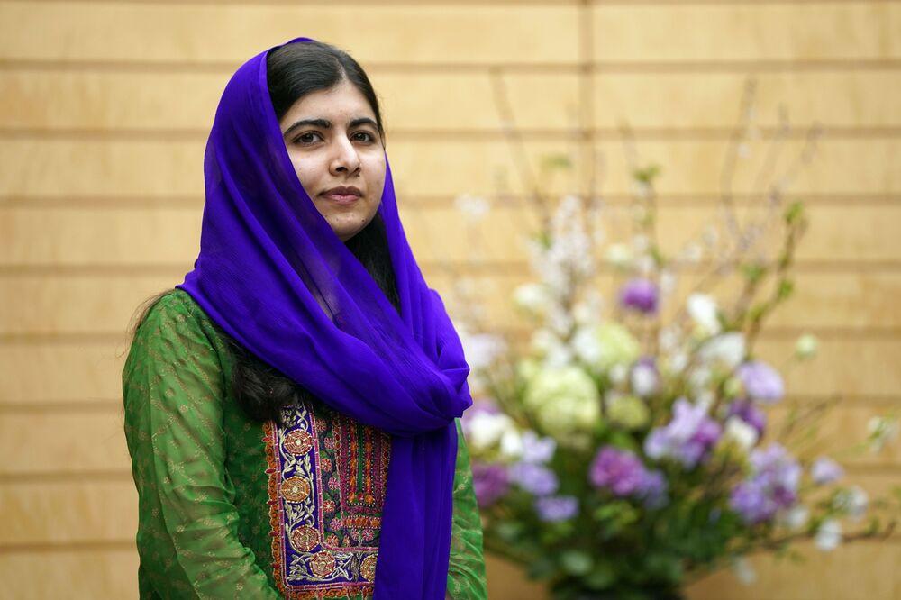 Malala Yousafzai, un'attivista pakistana, la più giovane vincitrice del Premio Nobel per la pace