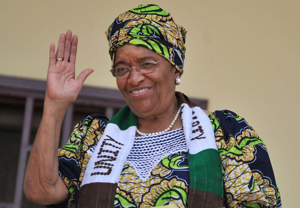 Ex presidente della Liberia Ellen Johnson Sirleaf