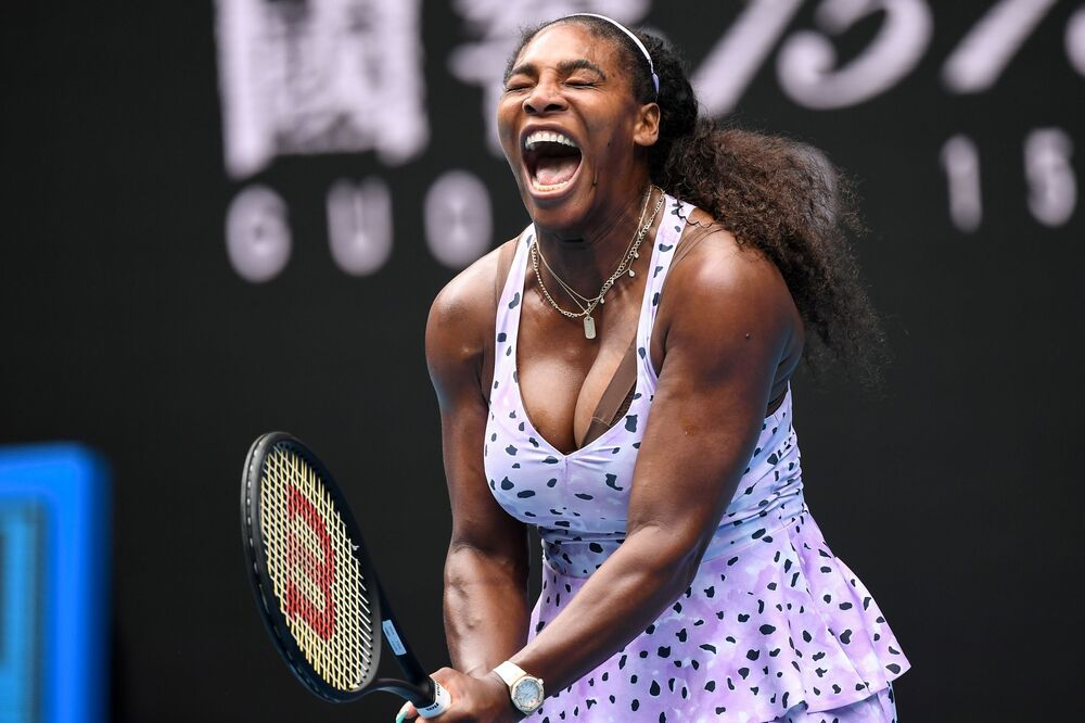 La tennista americana Serena Williams