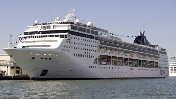 La nave da crociera Msc Opera - Sputnik Italia