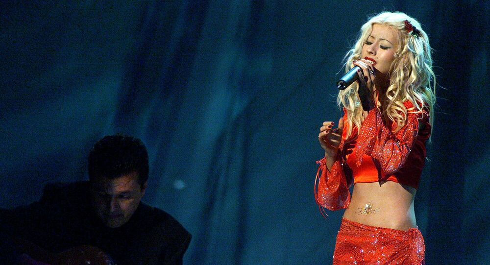 Christina Aguilera (foto d'archivio)