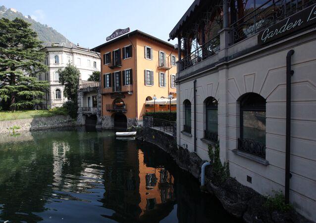 La regione italiana di Lombardia