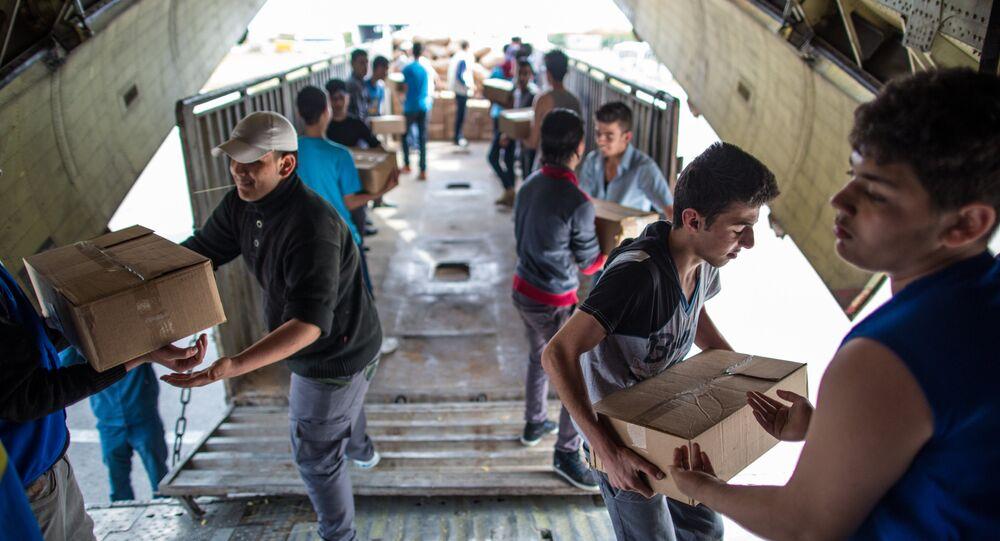 Aiuti umanitari russi Aleppo