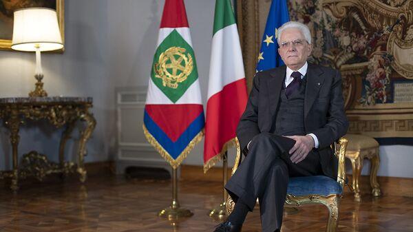 Il Presidente Sergio Mattarella in occasione della Giornata Internazionale della donna - Sputnik Italia