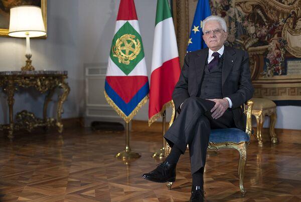 Il Presidente Sergio Mattarella in occasione della Giornata Internazionale della donna. - Sputnik Italia
