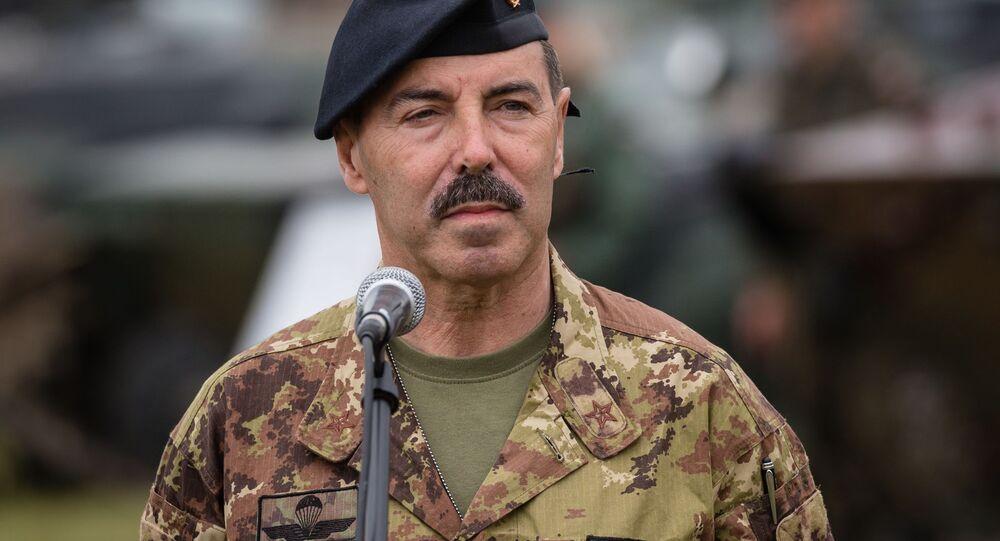 Salvatore Farina, capo dello Stato Maggiore dell'Esercito