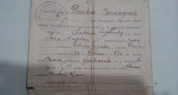 I giovani della famiglia Bumagin in Argentina hanno iniziato a fare una ricerca delleorigini della famiglia
