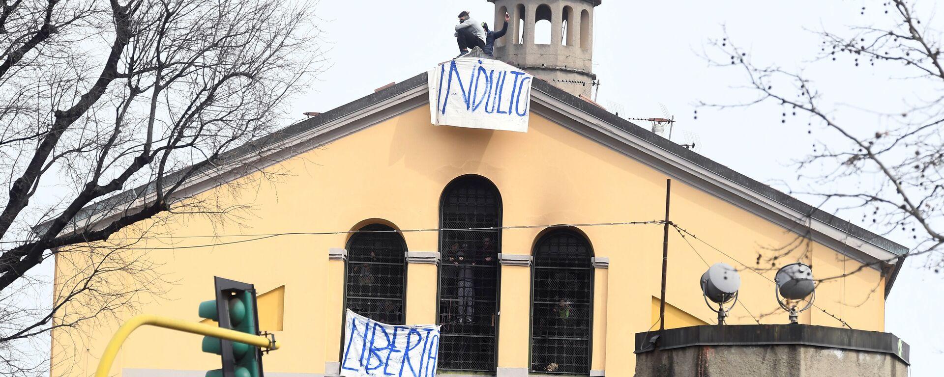 Milano, rivolta in carcere San Vittore  - Sputnik Italia, 1920, 30.06.2021