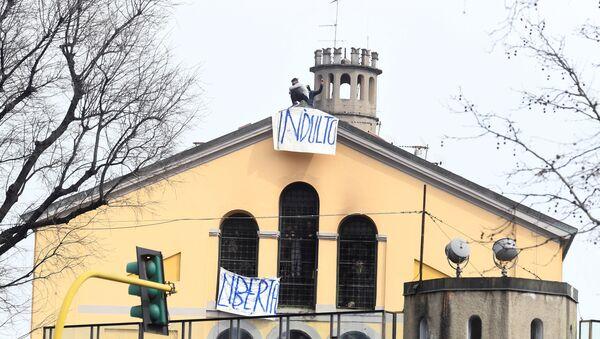 Milano, rivolta in carcere San Vittore  - Sputnik Italia