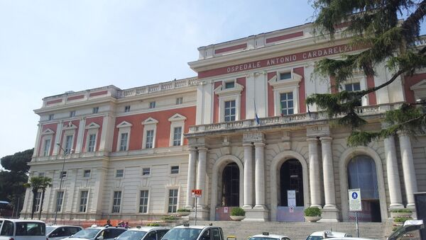 L'Ospedale Antonio Cardarelli di Napoli - Sputnik Italia