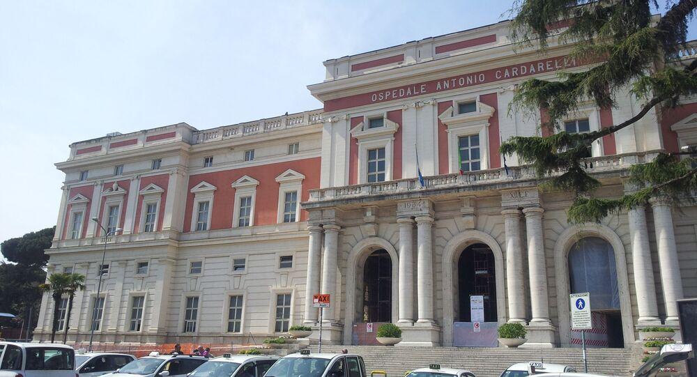 L'Ospedale Antonio Cardarelli di Napoli