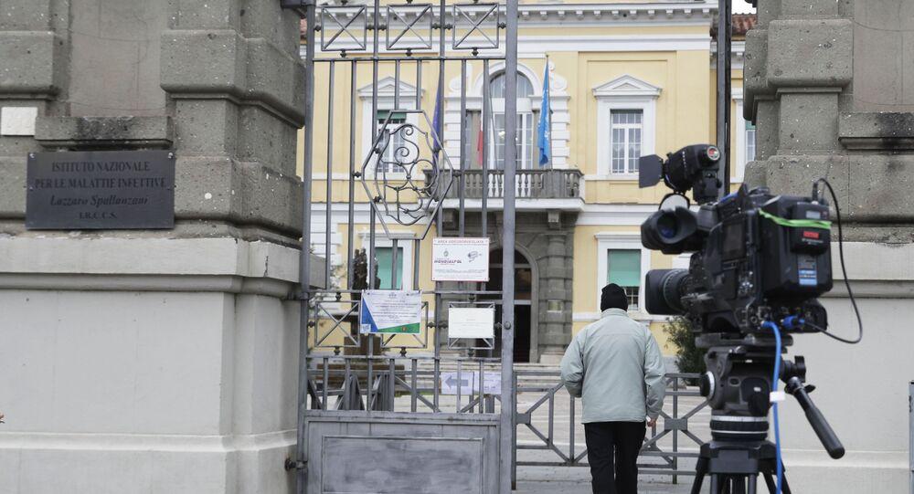 L'ospedale Lazzaro Spallanzani di Roma