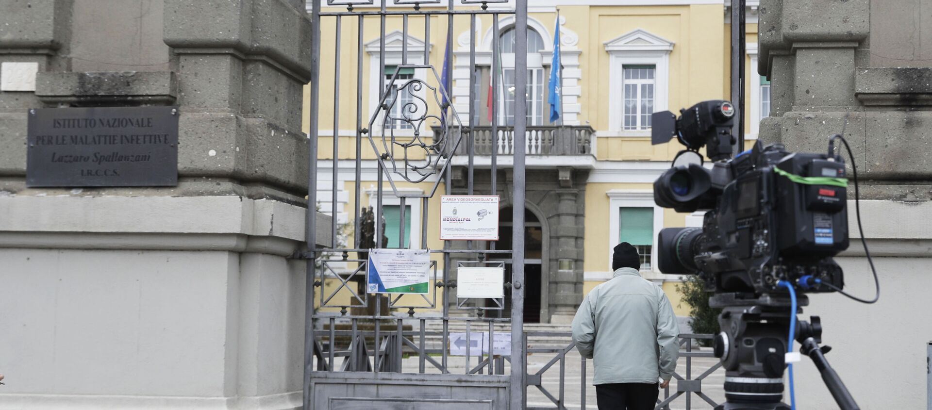 L'ospedale Lazzaro Spallanzani di Roma - Sputnik Italia, 1920, 20.03.2021