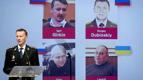 Imputati dell'inchiesta sullo schianto del Boeing malese nel Donbass - Sputnik Italia