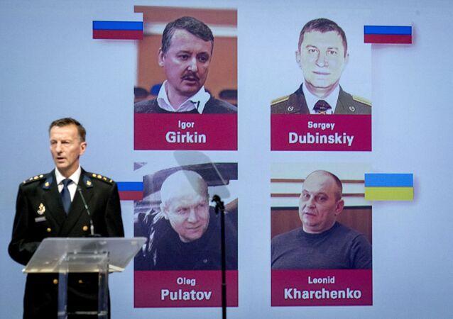 Imputati dell'inchiesta sullo schianto del Boeing malese nel Donbass