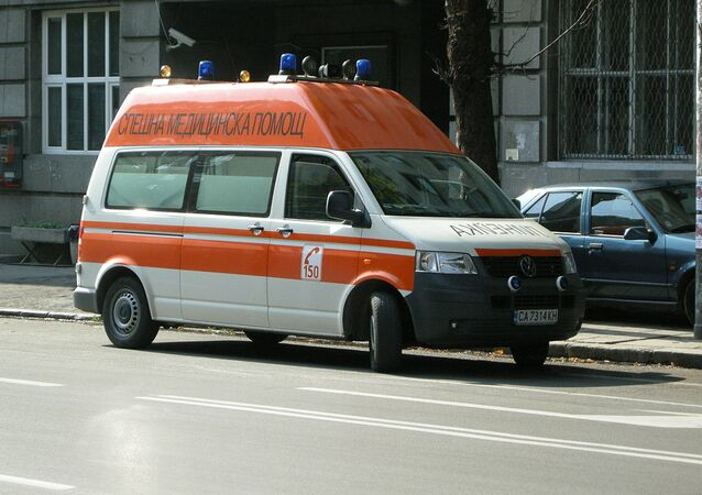 Ambulanza in Bulgaria
