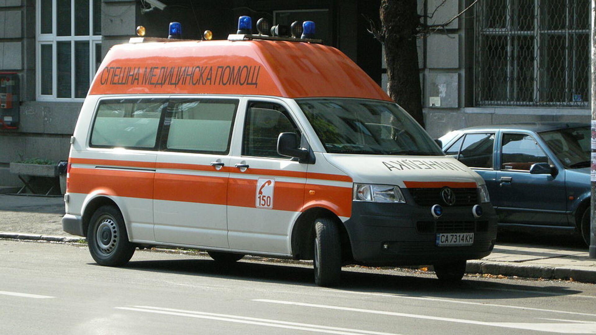 Ambulanza in Bulgaria - Sputnik Italia, 1920, 20.05.2021