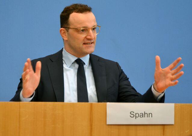 Bundesminister für Gesundheit Jens Spahn
