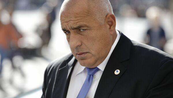 Il primo ministro bulgaro Borisov - Sputnik Italia